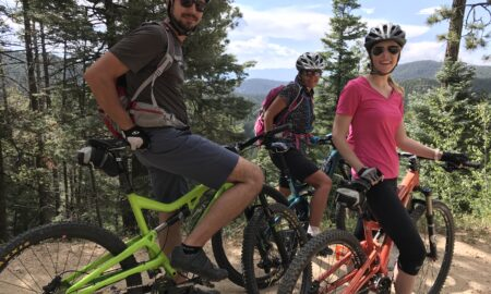 Biking the Santa Fe National Forest for Travels with Darley