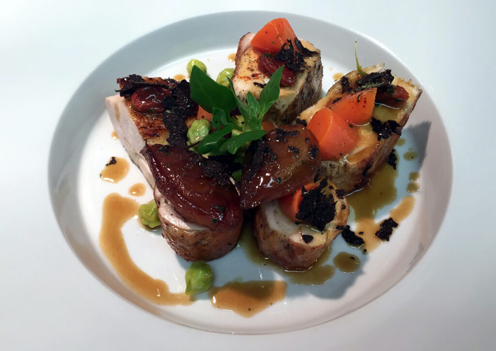 Chef Joel Antunes cooks up delish foods at the Capital Hotel in Little Rock