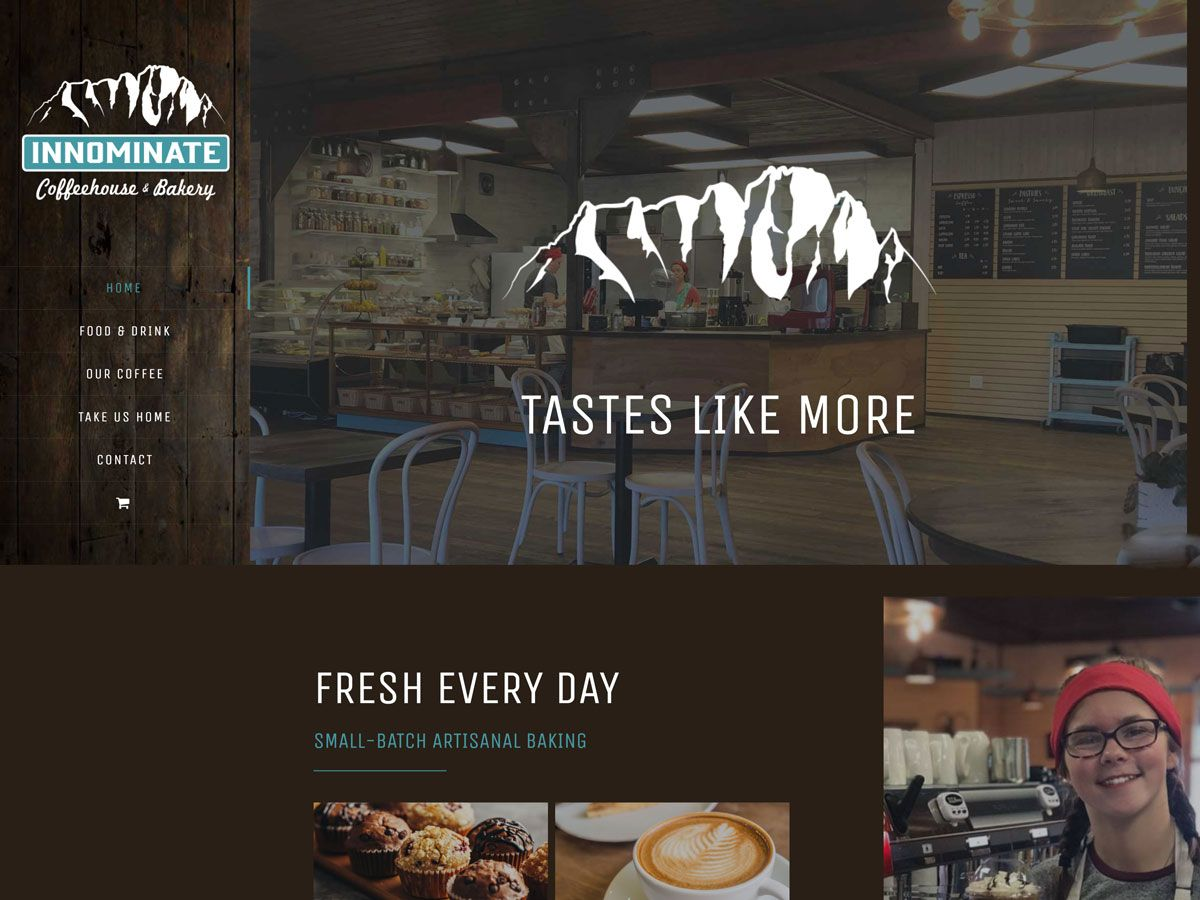 Innominate Bakery website created by Confluence Collaborative