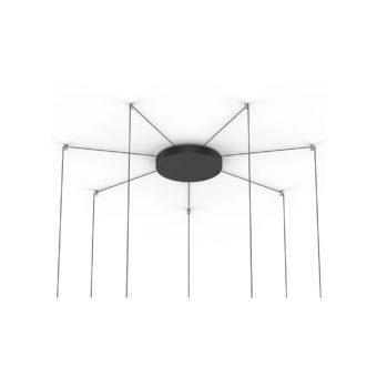"12"" (7-12 Lamps) - Black"