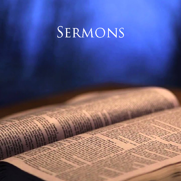 An open bible for sermons