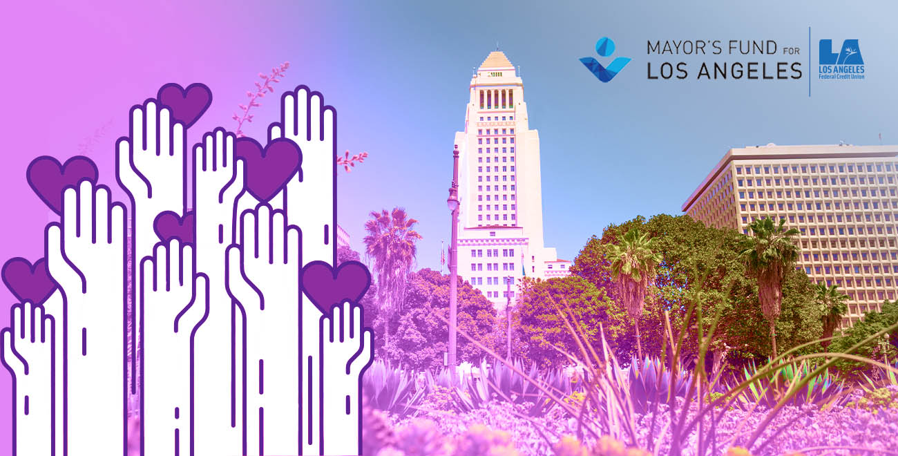 LAFCU Donates $10K to Mayor's Fund for Los Angeles