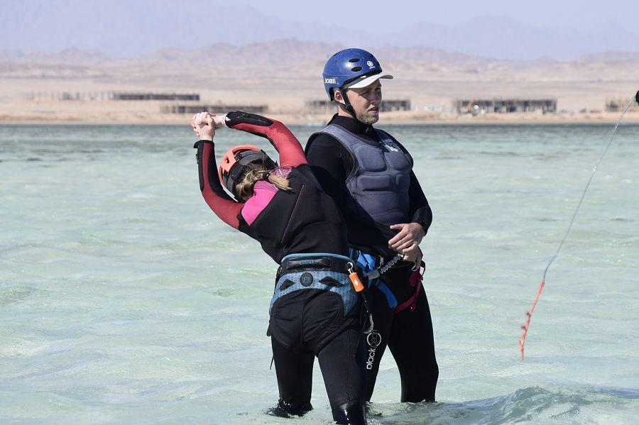 apprendre le kitesurf à Soma Bay Mer Rouge Egypte