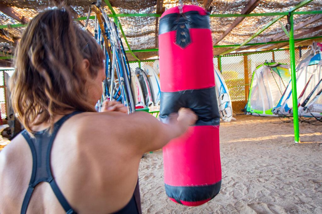Boxen als No-Wind Aktivität