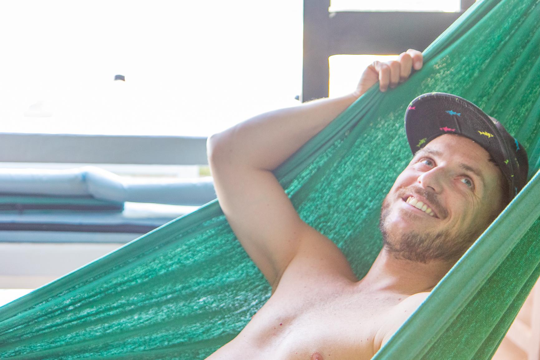 Relaxen in der Hängematte
