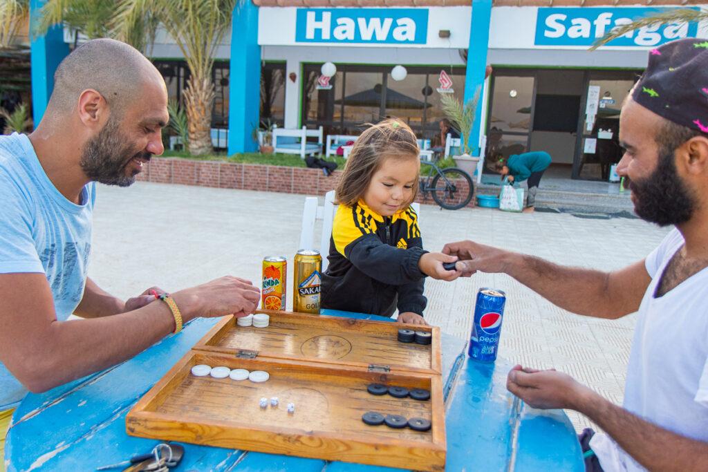 Brettspiele bei Hawa Safaga