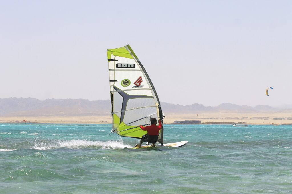 Windsurfen in Somabay