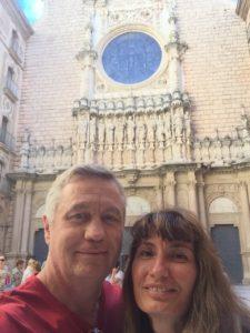 Todd and Oana at Montserrat