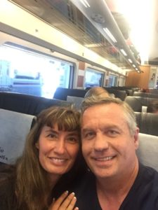 Todd and Oana Traveling to Madrid