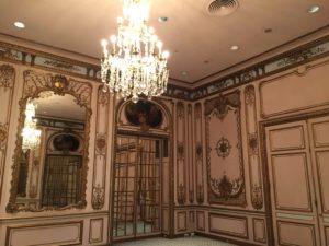 Tesse Fair Vanderbilt's reception room