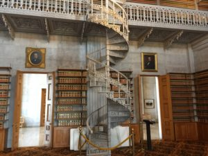 New York Statehouse Library Stairs