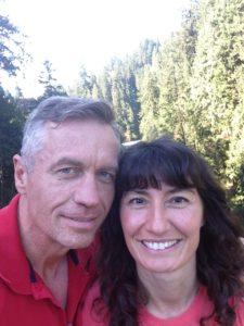 Todd and Oana at Capilano Suspension Bridge Park