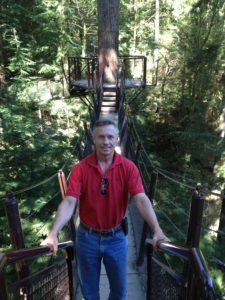 Todd at Capilano Suspension Bridge Park