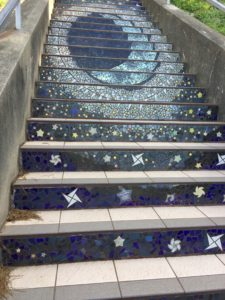 16th St Tile Steps