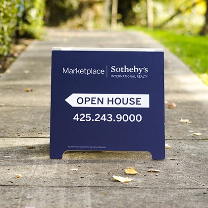 Open House - Real Estate Signs in Pflugerville, Texas