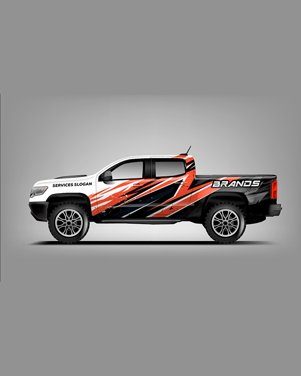 Attractive fleet vehicle wraps by Stryker Designs in Pflugerville, TX