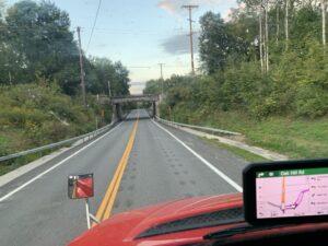Low Overpass Esperance Road, New York