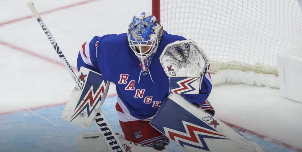 Alexandar Georgiev records fourth career NHL shutout