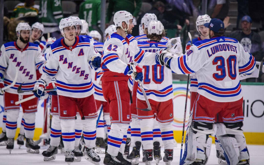 New York Rangers lay down solid foundations