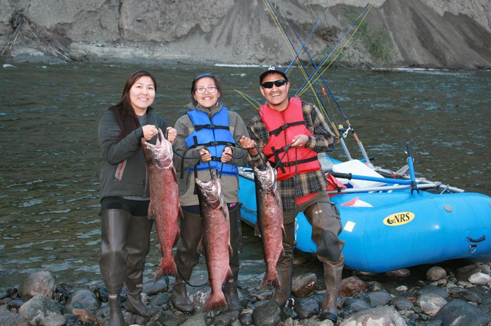 King Salmon, fishing, Alaska, Gulkana River