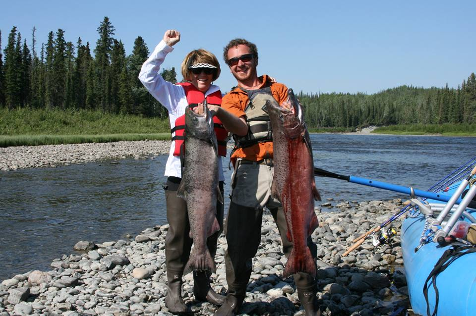 Gulkana River, King Salmon, fishing