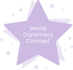 World Diplomacy Concept
