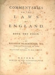 Blackstone's Influence on American Political Philosophy