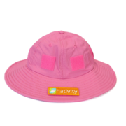 Hot Pink Sun Hat