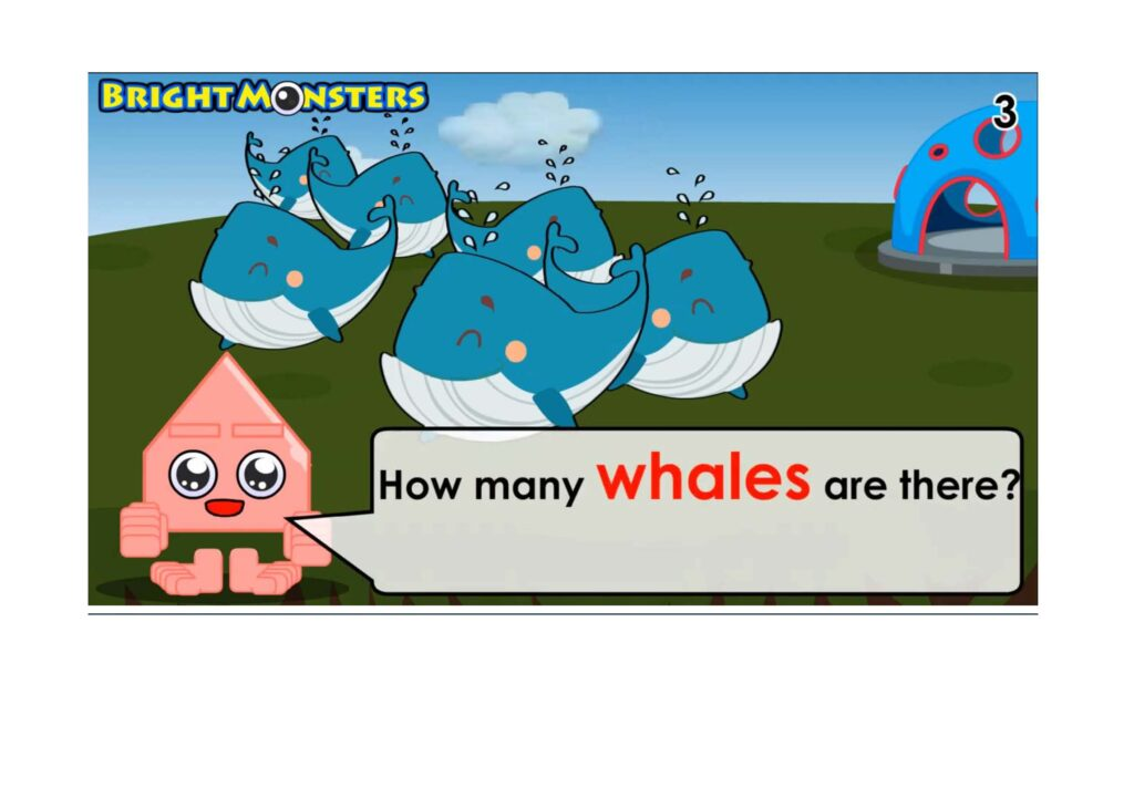Bright Monsters - Counting 6 whales.