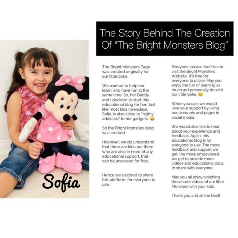 "The Story Behind The Creation Of ""The Bright Monsters Blog"""
