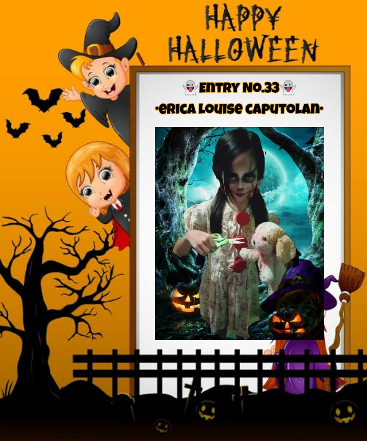 Bright Monsters – Halloween Costume Competition. Entry No.33