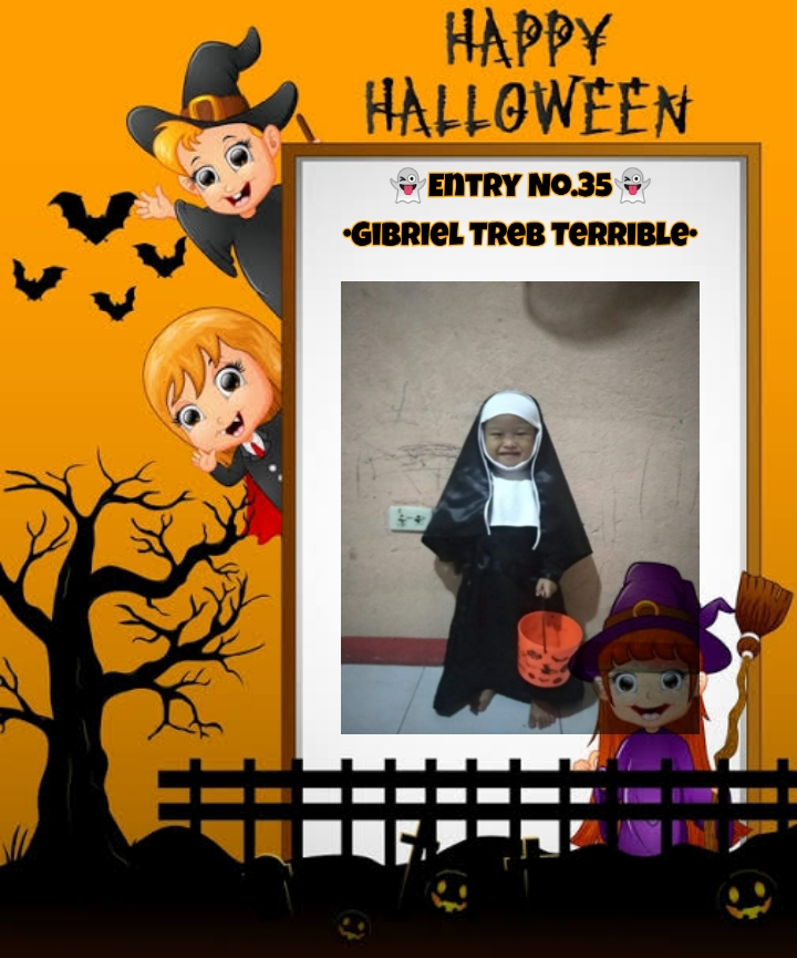 Bright Monsters – Halloween Costume Competition. Entry No.35