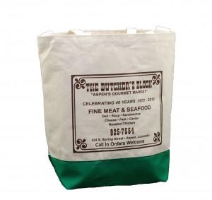 Non-woven custom reusable tote bag