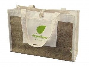 Custom Reusable Tote Bag by Morgan Chaney