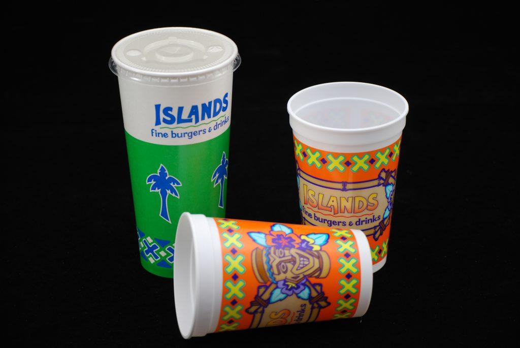Islands - Cups