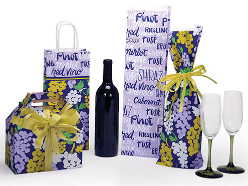 Wine Packaging Grape Collection