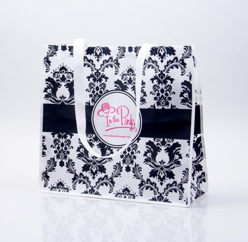 Reusable tote bags - custom gift packaging