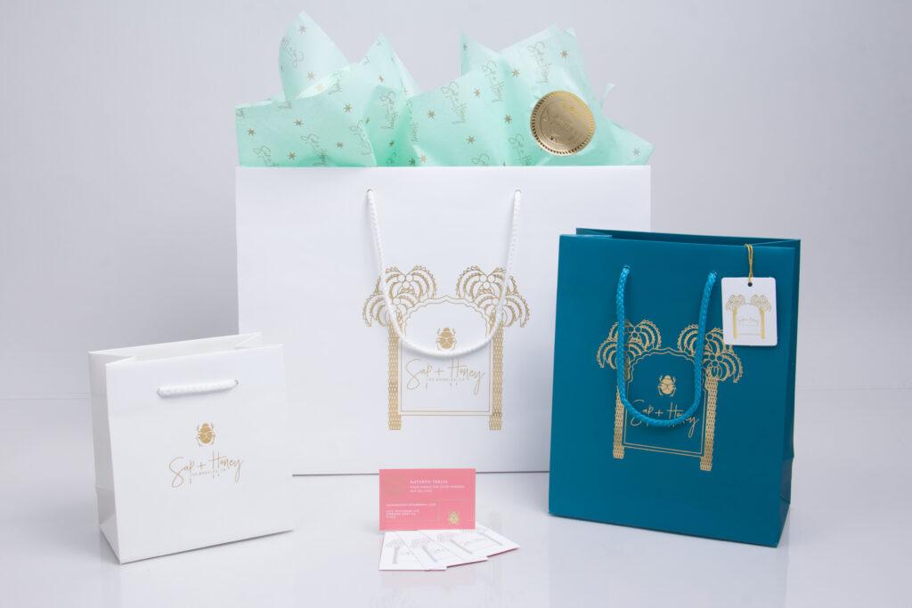 Custom printed retail packaging program