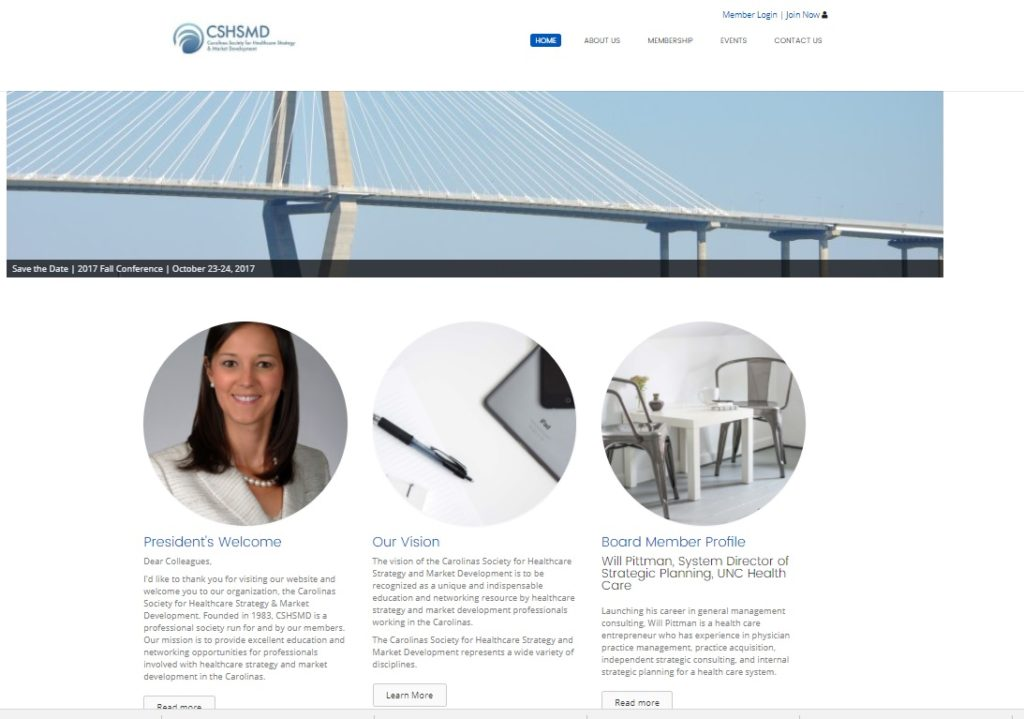 cshsmd website project