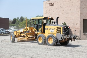 commercial asphalt paving in Mississauga - gravel project