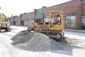 commercial asphalt paving in Toronto - gravel installation
