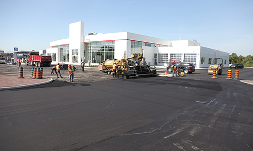 Parking Lot paving Mississauga