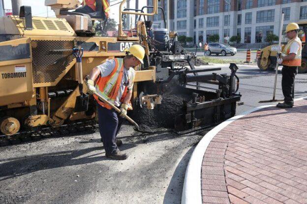 paving work