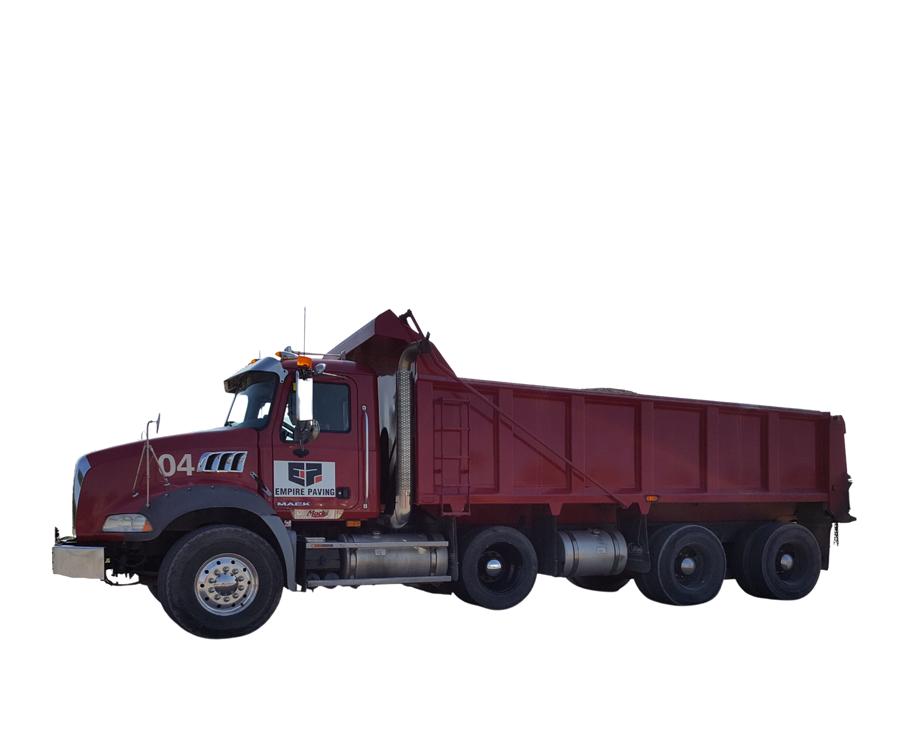 Asphalt & Paving Company Toronto - Empire Paving Truck