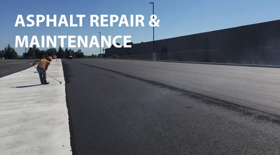 Asphalt Paving Company - Asphalt Repair & Maintenance Projects
