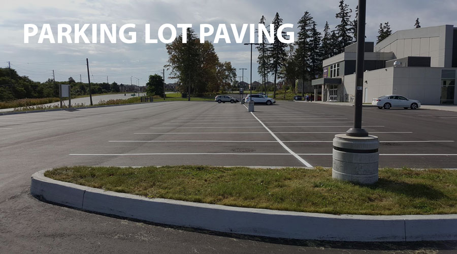 Asphalt Paving Company - Parking lot Paving Projects