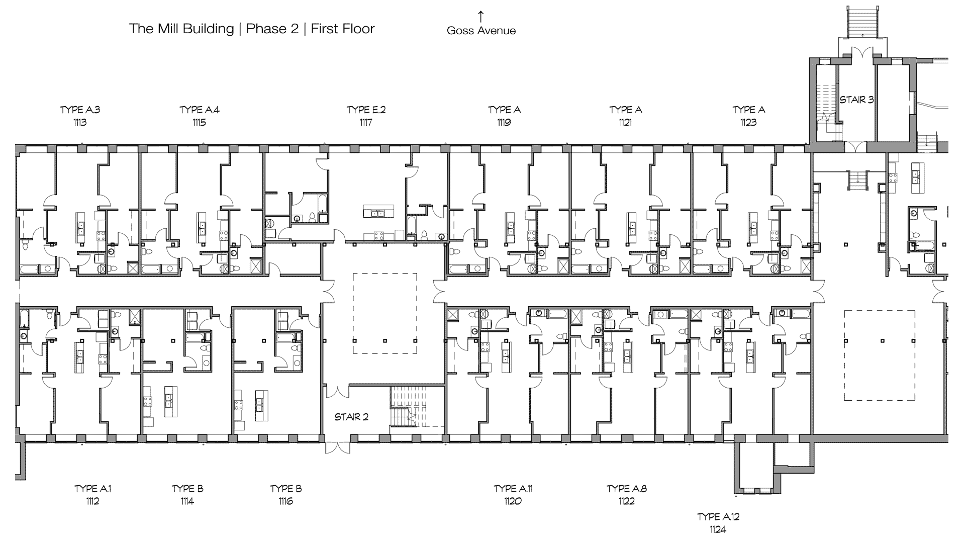 GML Mill Building | Phase 2 | First Floor