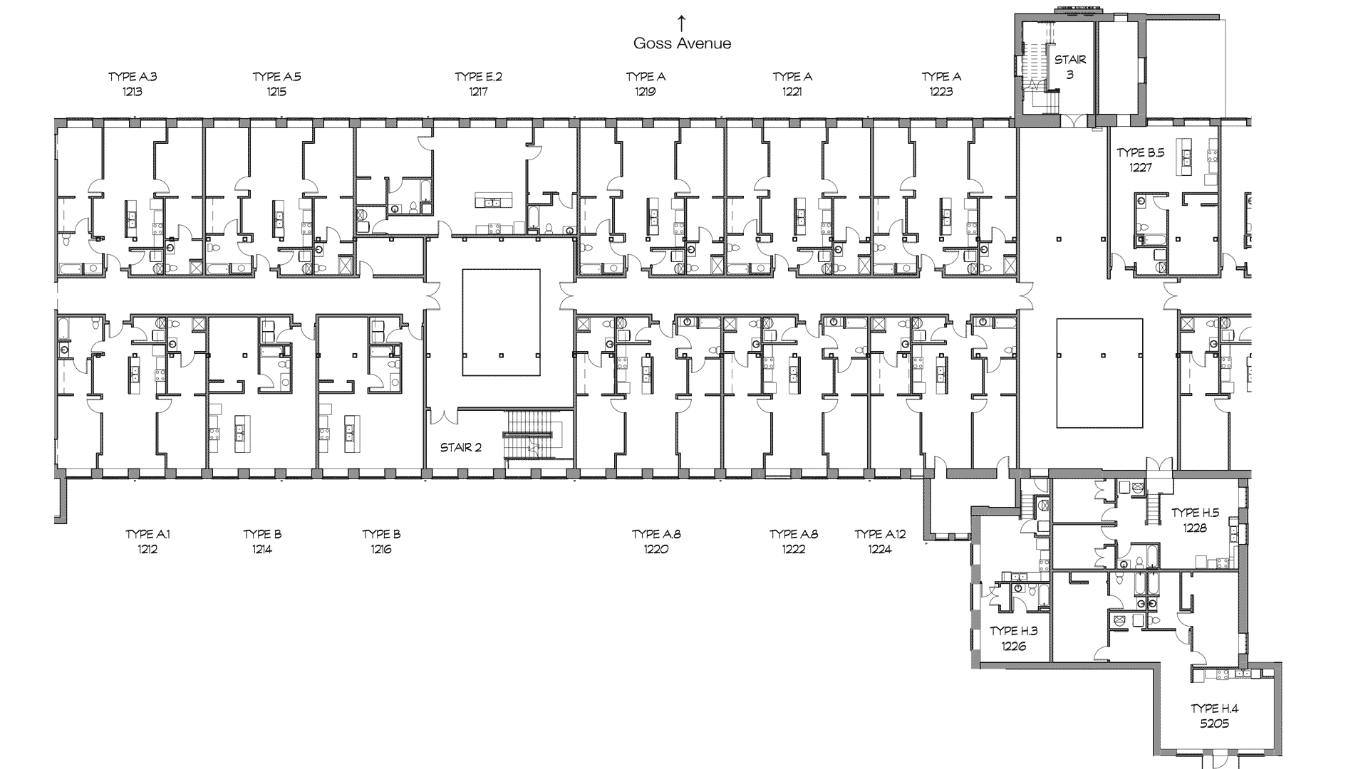 GML Mill Building | Phase 2 | Second Floor