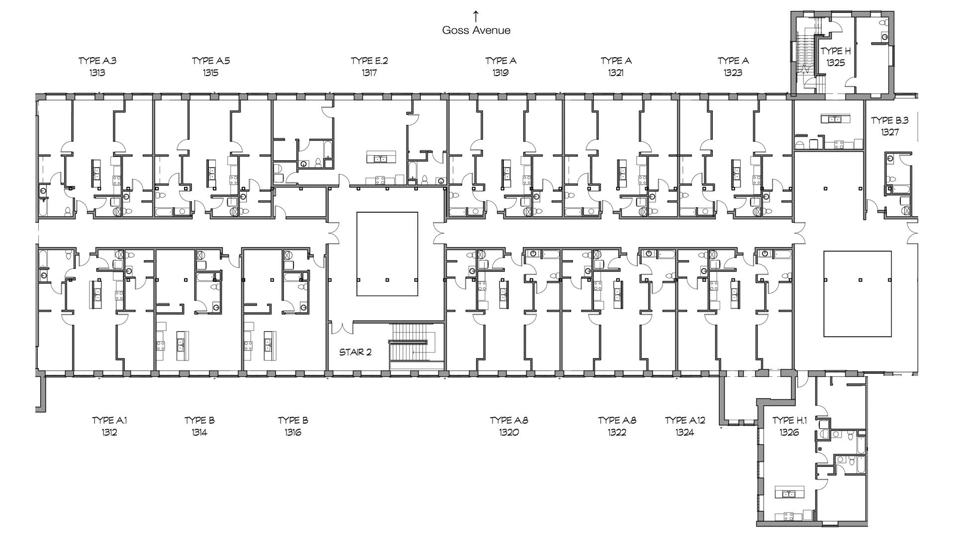 GML Mill Building | Phase 2 | Third Floor