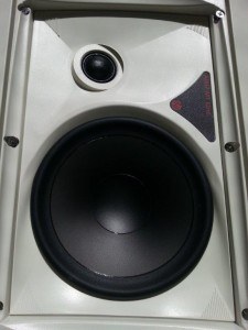 SpeakerCraft AIM series in-wall speaker.